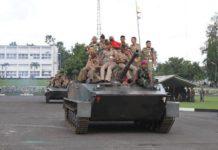 Kunjungan Praja IPDN ke Pasmar 1 Marinir.