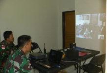 Testing internet wireless di Makosatgas Pamtas Yonif Linud 503/MK.
