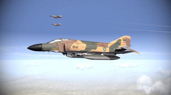F-4 Phantom II milik IRIAF