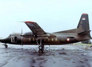 PH-EXB (A-2702) Fokker F-27-400M Friendship [10537] (Fokker) Amsterdam-Schiphol~PH 30/08/1976