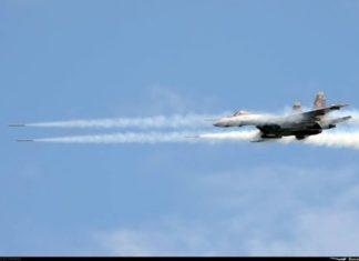 Live Firing Exercise Su-35