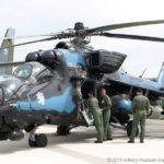 Alutsista Soviet Mi-24 milik Angkatan Bersenjata Ceko.