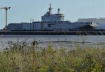 Sevastopol, salah satu kapal induk kelas Mistral pesanan Russia.