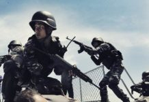 Latihan VBSS TNI-AL.