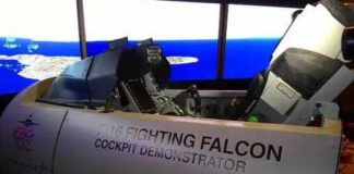 Ilustrasi Simulator F-16