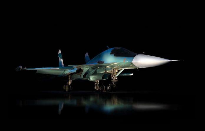 Sukhoi Su-34 Fighter Bomber
