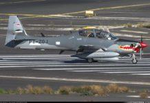 Pesawat Super Tucano TNI AU
