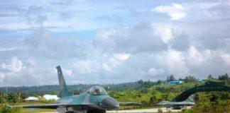 F-16A deployment di Biak