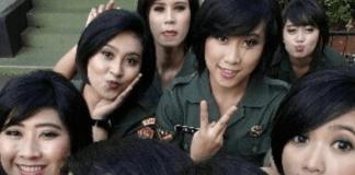 Foto-Foto TNI Cantik