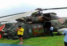 Helikopter TNI AU Terperosok di Lanud Sulaiman, Bandung