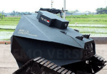 Prototype Kendaraan Taktis War-V1 Buatan BDLtech Indonesia