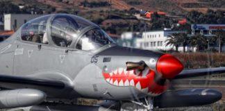 Pesawat Skadron Udara 21 EMB-314 Super Tucano Jatuh di Malang