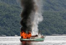 Pemerintah Eksekusi 30 Kapal Pencuri Ikan