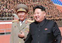 Ri Yong-Gil saat menemani Kim Jong-Un