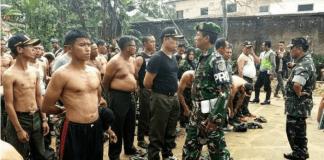 TNI Gerebeg Ormas Bergaya ala Militer
