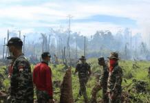 Foto-Foto Aksi Tim Ekspedisi NKRI Padamkan Kebakaran Hutan