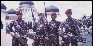 Prajurit Kopassus Lawan GAM di Aceh