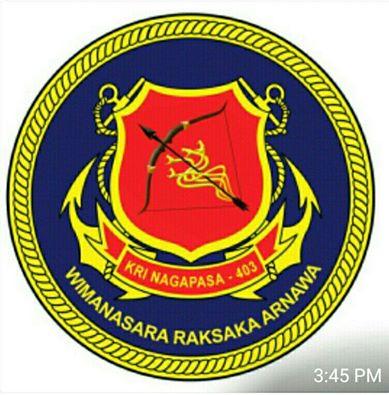 Logo KRI Nagapasa 403