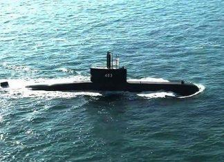 KRI Nagapasa 403 sea trial
