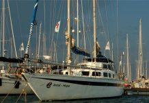 88-kapal-flotilla-bantuan-kemanusiaan-gaza-berangkat-dari-barcelona