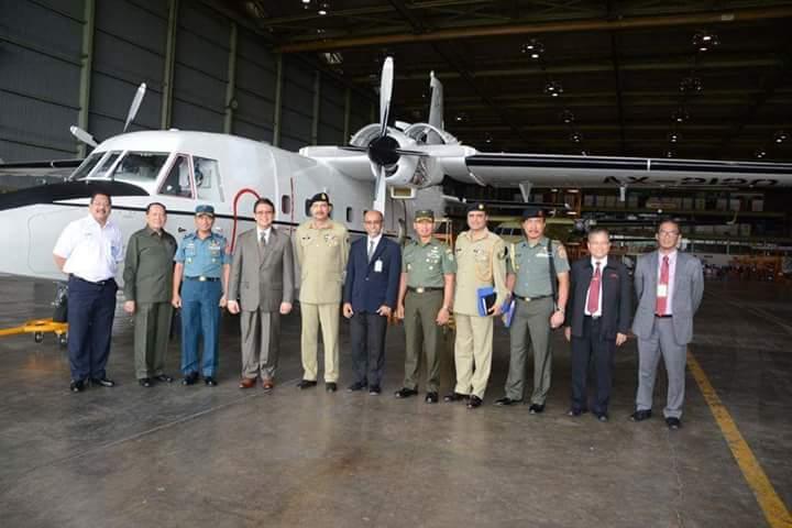 Pangab Pakistan Melihat Produksi NC-212