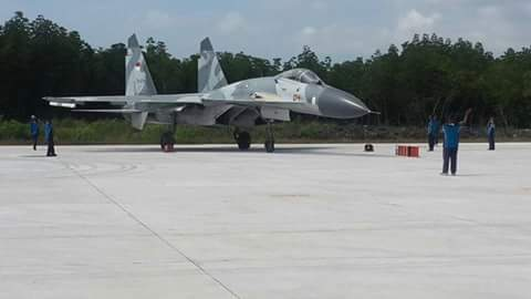 Sukhoi at Ranai