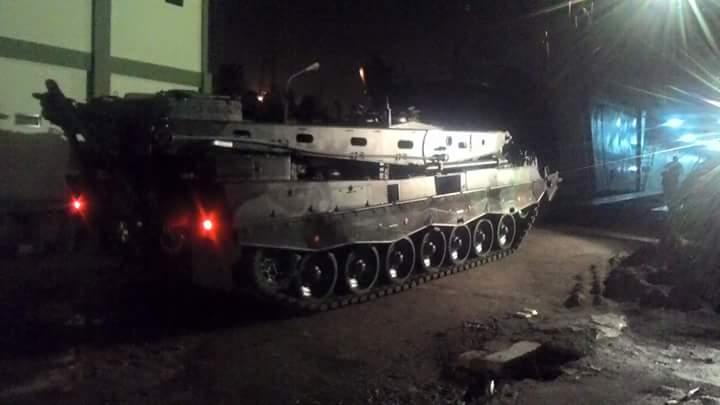 Leopard 2 ARV berangkat ke Natuna