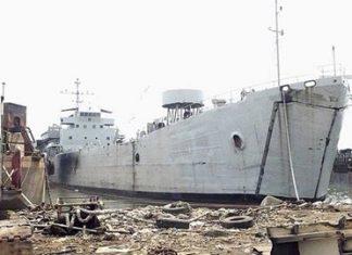 Kapal Angkut Tank akan di Scrap