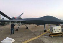 UAV Bomber Wing Loong II yang akan ditampilkan pada Zhuhai Airshow 2016