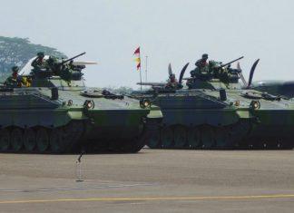Marder 1A3 milik TNI AD