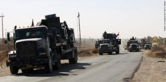 Pasukan Irak untuk Operasi pembebasan kota Mosul