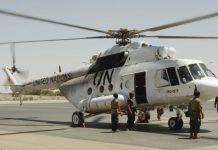 Mi-17V5 penerbad di MINUSMA