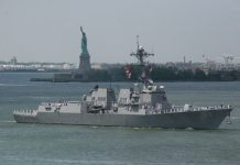Ilustrasi USS Nitze