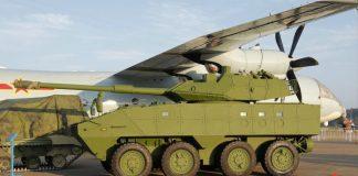 Kendaraan tempur modular versi pembawa meriam 105 milimeter buatan NORINCO
