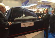 Menhan Perancis tampilkan konsep frigate FTI