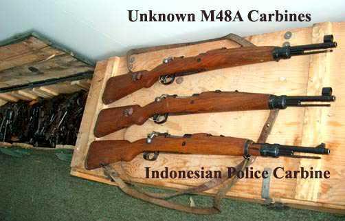 Perbandingan senapan M48A dengan senapan M48 varian Polri
