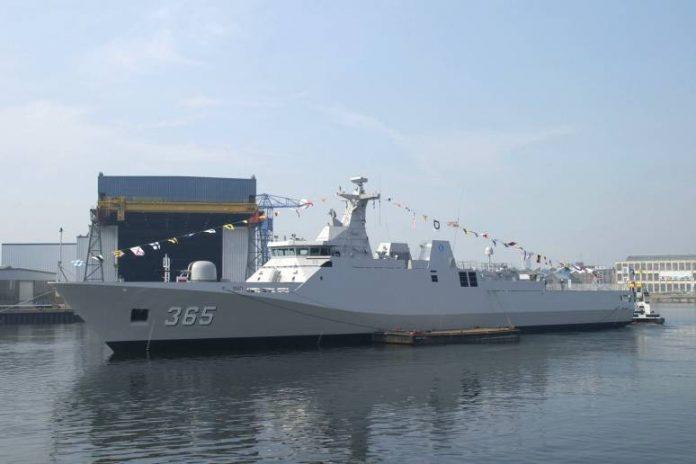Kapal Perang Korvet SIGMA Kelas Diponegoro