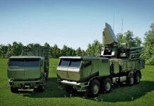 Konsep Pantsir-SM Sistem pertahanan udara.