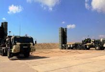 S300 Launchers of Azerbaijan Air Defense Unit.