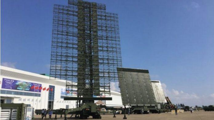 Radar Anti Pesawat Tempur Siluman China