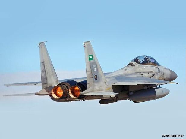 Ilustrasi F-15 SA