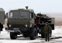 ARS-14KM, kendaraan dekontaminasi multi-peran milik pasukan proteksi Nubika Angkatan Bersenjata Rusia