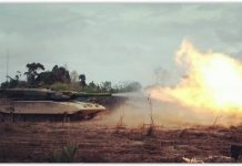 MBT Leopard 2RI TNI AD fire power demo