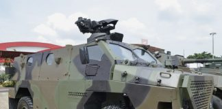 Sanca MRAP di Indo Defence 2016