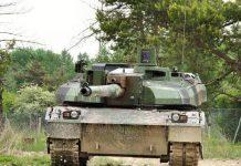 Ilustrasi MBT Leclerc