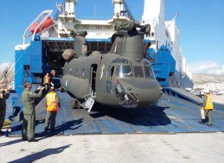 CH-47D Chinook milik Angkatan Bersenjata Yunani