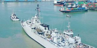 KRI Fatahillah 361 After MLU
