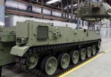 Polandia Pesan Chassis Kendaraan SPH K9