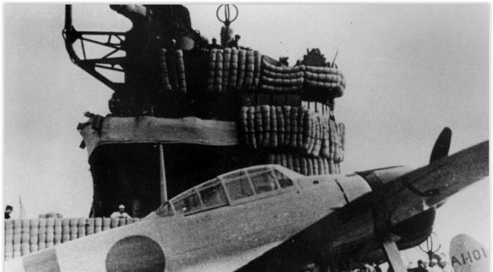 Mitsubishi A6M Zero pada saat serangan Jepang ke Pearl Harbour