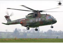 Gambar Helikopter AgustaWestland AW101 TNI AU